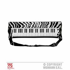 Inflatable Electronic Keyboard 57 cm Music Instrument Fancy Dress Accessory