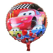 "Party : Cars 18"" Foil Balloon Party Decor 10 pc"