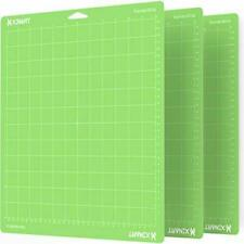 �3Pcs Green】 Cutting Mat for Cricut Maker/Explore Variety 12'x12'