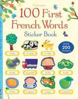 French Sticker Activity book for Children Bilingual book for kids from Usborne