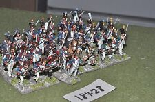 25mm napoleonic / french - infantry 36 figs - inf (18428)