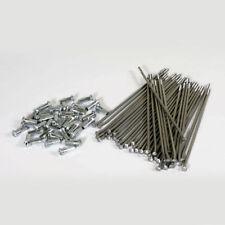 """Stainless Steel Spoke Set Kit 19"""" Rear Wheel KXF 250 450 06-17 KX 125 250 03-08"""