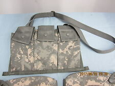NEW ACU Molle Bandoleer Pouch 6x 5.56 Mags M4 AR15 Hunting Military Surplus