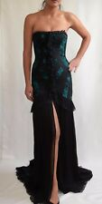 Temperley Long  Long Silk Sleeveless Opera Sample Dress  SIZE UK 8 ....... #