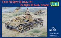 Pz Kpfw III Ausf. N tank << UM #275, 1:72 scale