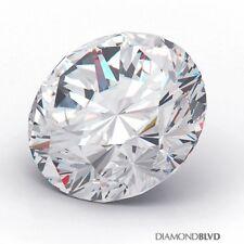 1.28 Carat J/SI1/Ex Cut Round Brilliant AGI Earth Mined Diamond 7.18x7.22x4.00mm