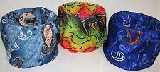 Lot Set 3 Blue Grey Neon Rainwbow Paisley Multi Function Head Wear Face Mask