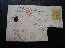 FRANCE - fragment d enveloppe avant 1900 (Z3) french