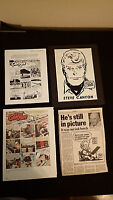 STEVE CANYON by Milton Caniff - newspaper comics/clipping