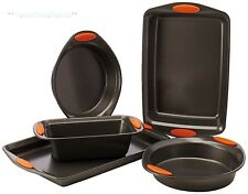 Nonstick Bakeware Set Kitchen Oven Cookware 5 Pc Pie Pans Cookie Sheets New