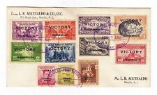 1945 PHILIPPINES VICTORY FDC