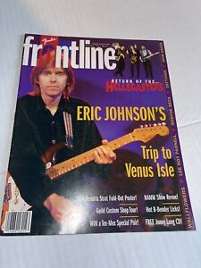 Fender Frontline Spring 1997 Eric Johnson Venus Isle Return Of The Hellecasters
