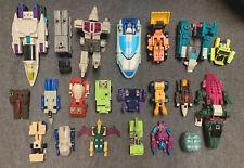 VINTAGE 1980's TRANSFORMERS Lot of 21 Figures - TAKARA HASBRO