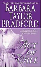 Act of Will Bradford, Barbara Taylor Mass Market Paperback Different Cover 1994