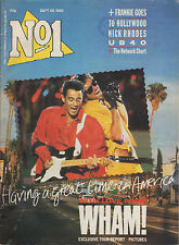 Wham! on Mag Cover 1985   Paul Rutherford  UB40  Nick Rhodes  Mai Tai  Paul King