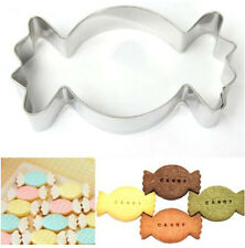 Candy Stainless Steel Cookie Cutter Cake Baking Mould Biscuit X'mas Gift