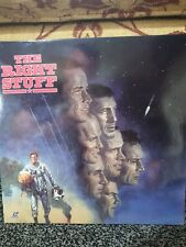 THE RIGHT STUFF LASERDISC! CHARLES FRANK, EXTENDED, WIDESCREEN EDITION