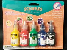 Scribbles - Fruit Scented 3D Fabric Paint -New