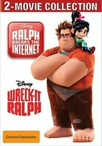 Wreck-it Ralph / Ralph Breaks The Internet - (SANITY EXCLUSIVE) - 2 Movie Col...