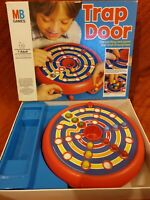 VINTAGE 'TRAP DOOR' MB GAMES  1982 marble maze board game