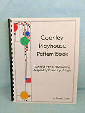 COONLEY PLAYHOUSE STAINED GLASS PATTERNS Frank Lloyd Wright Designs Casey BOOK