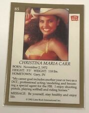 1992 Lime Rock Pro Cheerleaders Christina Carr #85