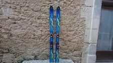 SKIS FREERIDE VINTAGE VOLKL EXPLOSIV 2  165 + SALOMON DRIVER POUDREUSE POWDER