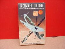 The Lindberg Line HEINKEL HE100 WWII GERMAN MYSTERY 1/72 Scale Sealed Box!
