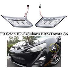 Led Clear Lens Side Marker Blinker Lights For Scion Fr S Subaru Brz
