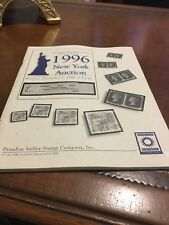 Paradise Valley Stamp Co 1996 New York Auction Catalog 12/2/1996