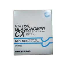 Shofu HY-BOND CX Mini Set Permanent Dental Cement Crown Bridge luting fixing