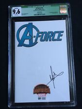 A-Force #1 Sketch Edition CGC 9.6 2138757018 Jorge Molina