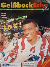 Programm 1995/96 1. FC Köln - FC Schalke
