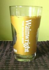 Wainwright golden beer 'Find Your Mountain' special edition pint glass. A1 cond.