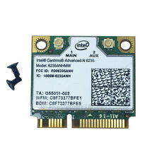 intel centrino advanced-n 6235ANHMW Wireless+ BLUETOOTH 4.0 WiFi MINICARD 5GHZ