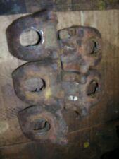 Vintage Ji Case Vac Tractor 5 Rear Wheel Clamps 1946