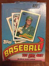 NICE! 1989 TOPPS BASEBALL UNOPENED WAX BOX-36 PACKS-ROOKIES, STARS, COMMONS