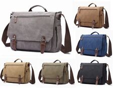 Mens Canvas Briefcase 15