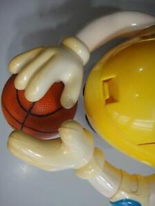 Asian M&M Candy Dispenser - YELLOW Basketball