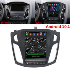 Vertical 9.7'' Android 10.1 Car Stereo Radio GPS 2+32GB For Ford Focus 2012-2017