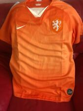 Women's Nike Netherlands Oranje Holland Soccer Team Size Xl Championship NWT