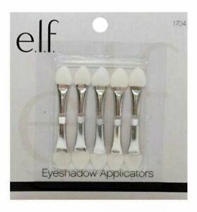 ELF Dual End Sponge Eyeshadow Applicators - 5 Pack NEW & SEALED Model: 1704