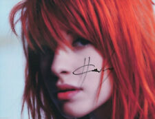 HAYLEY WILLIAMS SIGNED PHOTO 8X10 RP AUTOGRAPHED * PARAMORE * PETALS FOR ARMOR