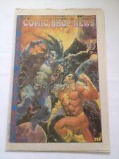 comic shop news # 212 , 1991 brereton ( shazam, lobo ) cover