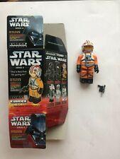 Medicom Tomy  Star Wars KUBRICK X-WING PILOT LUKE  loose + complete U.S. seller
