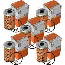 5x MAHLE / KNECHT OX 33D Ölfilter Oil Filter Mercedes-Benz Coupe C123 Puch