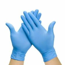 100/300/500/1000 Pcs Disposable Nitrile/Latex/Vinyl Gloves Powder Free S - M - L