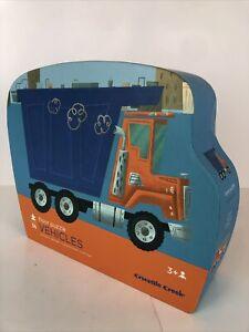 "Crocodile Creek Vehicles Floor Puzzle 36 Pieces 20""X 27"" Toys, Child's Gift, New"