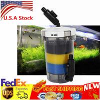 Aquarium External Canister Filter Pre-filtration Multiple Fish Tank 3x Sponge US