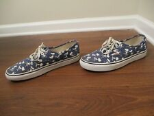Used Worn Size 11 Vans Era Peanuts Snoopy Shoes Blue White Black